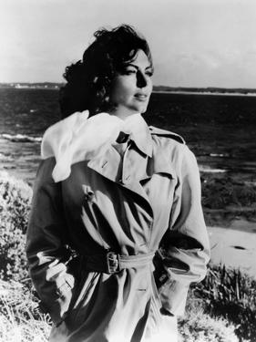 ON THE BEACH, 1959 directed by STANLEY KRAMER Ava Gardner (b/w photo)