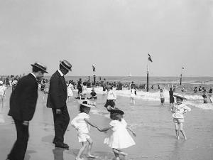 On the Beach at Rockaway, N.Y.