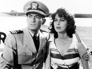 On the Beach, Gregory Peck, Ava Gardner, 1959