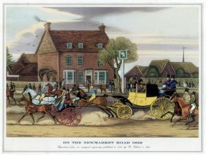 On the Newmarket Road, 1820