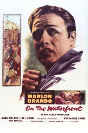 On the Waterfront - Movie Poster Reproduction