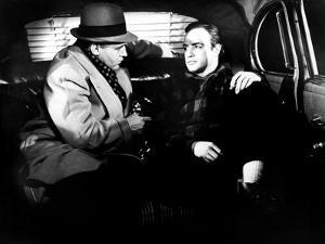 On The Waterfront, Rod Steiger, Marlon Brando, 1954