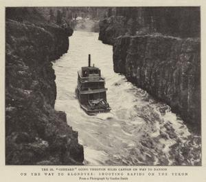 On the Way to Klondyke, Shooting Rapids on the Yukon