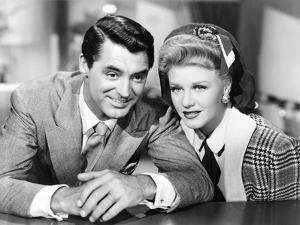 Once Upon a Honeymoon, Cary Grant, Ginger Rogers, 1942