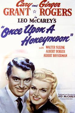 Once Upon a Honeymoon - Movie Poster Reproduction