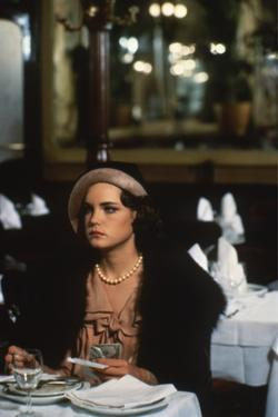 ONCE UPON A TIME IN AMERICA, 1984 directed by SERGIO LEONE Elizabeth McGovern (photo)