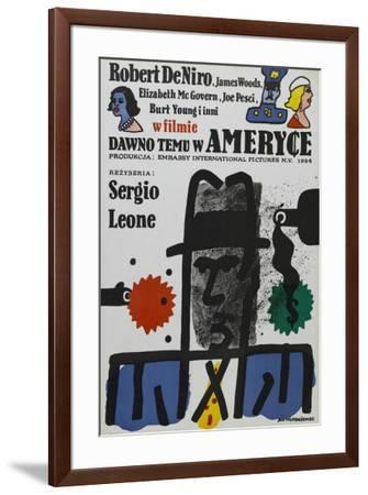 Once Upon a Time in America - Polish Style--Framed Poster