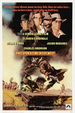 "Once Upon a Time In the West, 1968, ""C'era Una Volta Il West"" Directed by Sergio Leone"