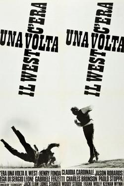 ONCE UPON A TIME IN THE WEST (aka C'ERA UNA VOLTA IL WEST), Italian poster art, 1968