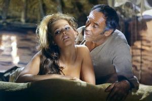 Once Upon a Time in the West by SergioLeone with Claudia Cardinale and Henry Fonda c, 1968 (photo)