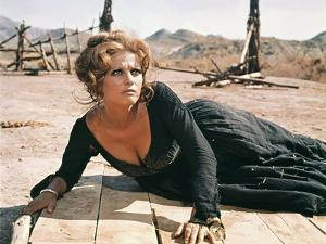 Once Upon a Time in the West by SergioLeone with Claudia Cardinale c, 1968 (photo)