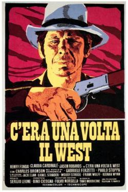 Once Upon a Time in the West, Charles Bronson on Italian Poster Art, 1968