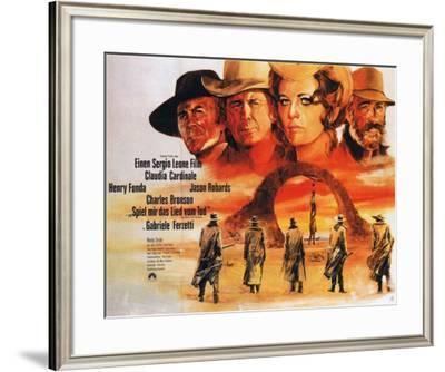 Once Upon a Time in the West - German Style--Framed Poster