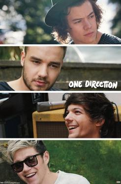 One Direction - Group Collage