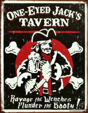 One Eyed Jack's Tavern Distressed