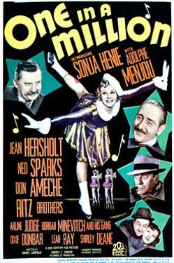 One in a Million - Movie Poster Reproduction