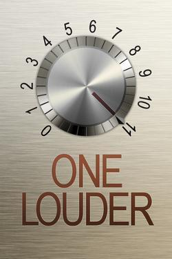 One Louder These Go to 11 Music Poster