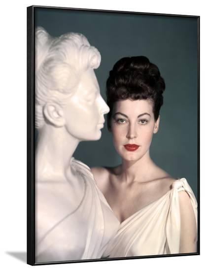 ONE TOUCH OF VENUS, 1948 directed by WILLIAM A. SEITER Ava Gardner (photo)--Framed Photo