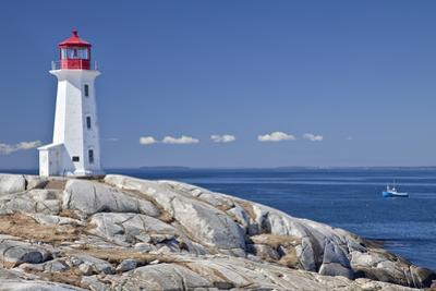 Peggy's Cove Lighthouse, Nova Scotia, Canada. by onepony