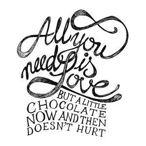 All You Need Is Love and Chocolate by ONiONAstudio