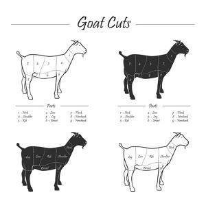 Goat Cut Scheme - B&W by ONiONAstudio