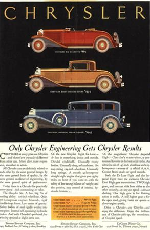 Only Chrysler Engineering…
