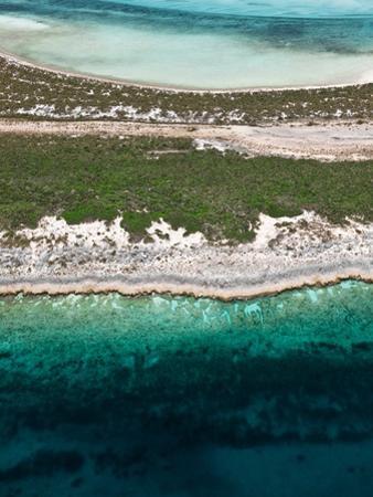 Aerial View of Exuma Cays, Bahamas