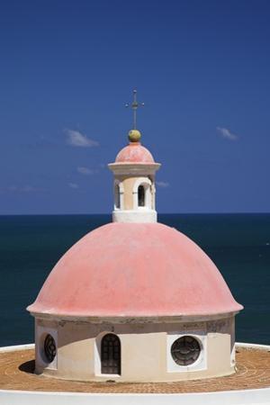 Pink Dome at El Morro Fortress
