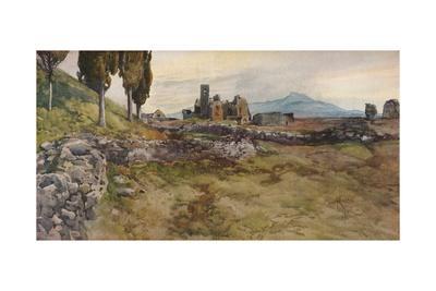 'On the Via Appia', c19th century