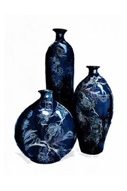 Blue China Vases by OnRei