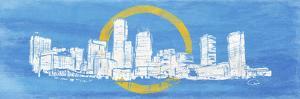 Boston Line Flag by OnRei