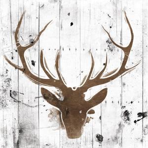 Brown Deer Head by OnRei