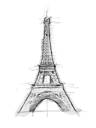 Eiffel Sketch D