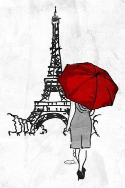 Eiffel Umbrella by OnRei