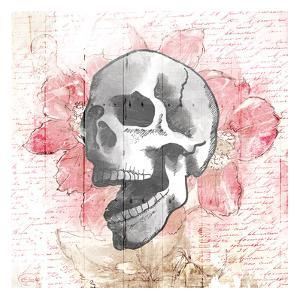 Floral Skull by OnRei