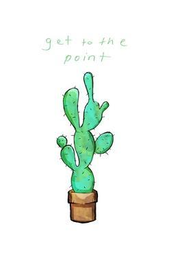 Get To The Point Cactus by OnRei