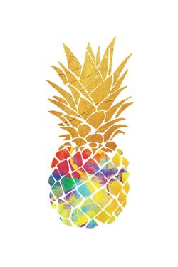 Gold Leaf Pineapple by OnRei