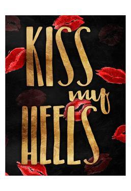Kiss My Gold Heels by OnRei