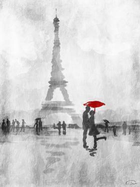 Paris In The Rain by OnRei