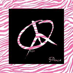 Peace Hot Pink by OnRei