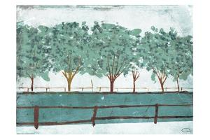 Trees And Fences by OnRei