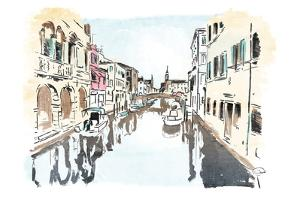 Venice In Ink by OnRei