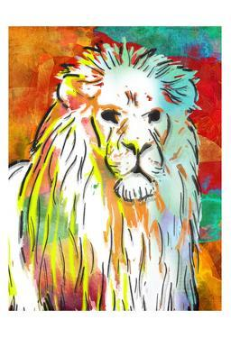 Vibrant Lion by OnRei