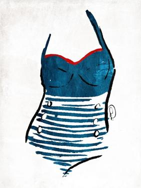 Vintage Swimsuit One by OnRei