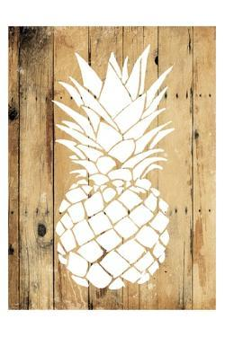 Wood Pineapple by OnRei