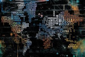 World Text Map by OnRei