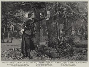 Open-Air Performance of As You Like It at Coombe House, Surrey, Lady Archibald Campbell as Orlando