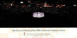 Opening Ceremonies, c.1996 Atlanta Olympic Games