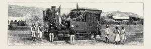 Opening of the First Rajpootana State Railway to Ulwar: the First Engine That Entered Ulwar
