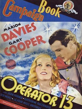 Operator 13, 1934, Directed by Richard Boleslavski
